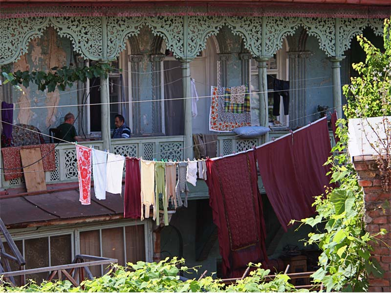 балкон в Тбилиси