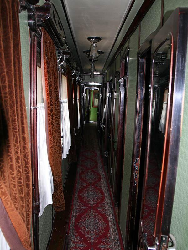 Интерьер вагона Сталина