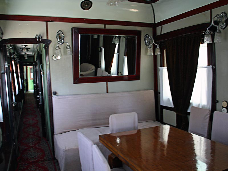 Кабинет в вагоне Сталина