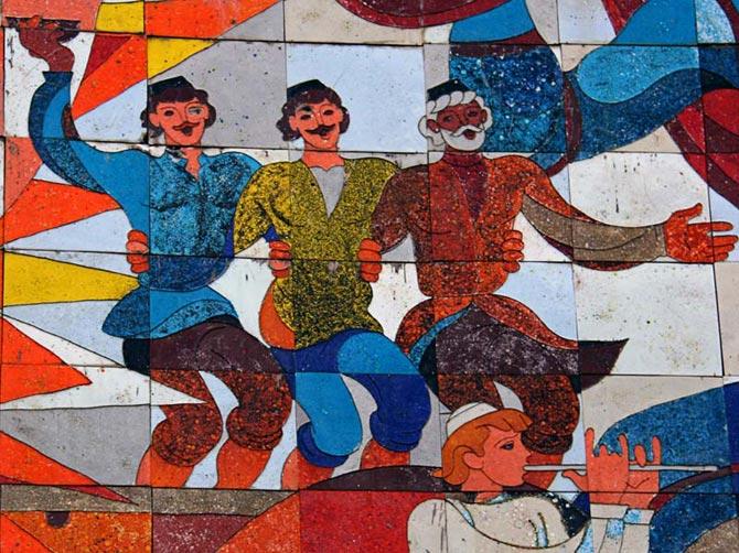 Грузинская мозаика