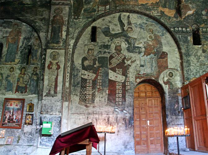 Фреска царицы Тамары