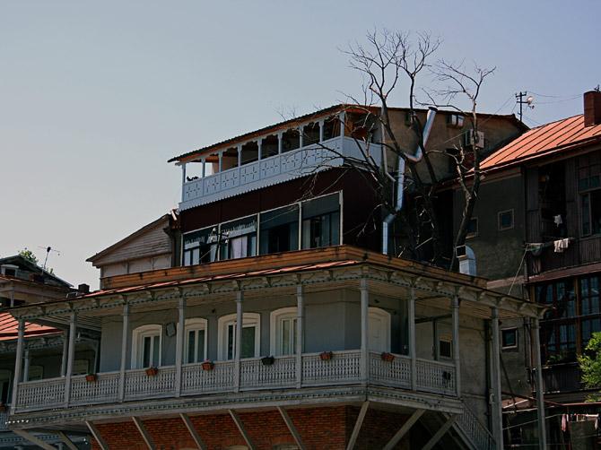 Тбилисские дома