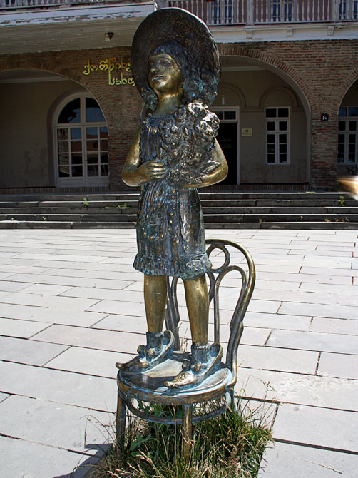 Девочка в Сигнаги