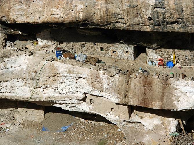 Жилая пещера