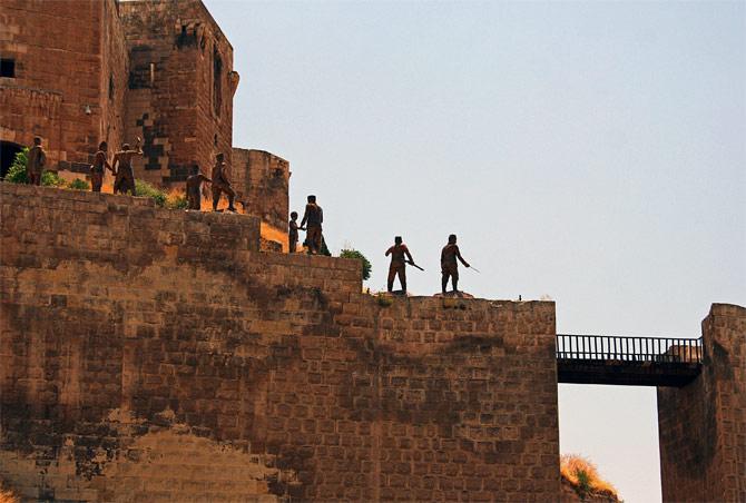 Крепость Газиантепа