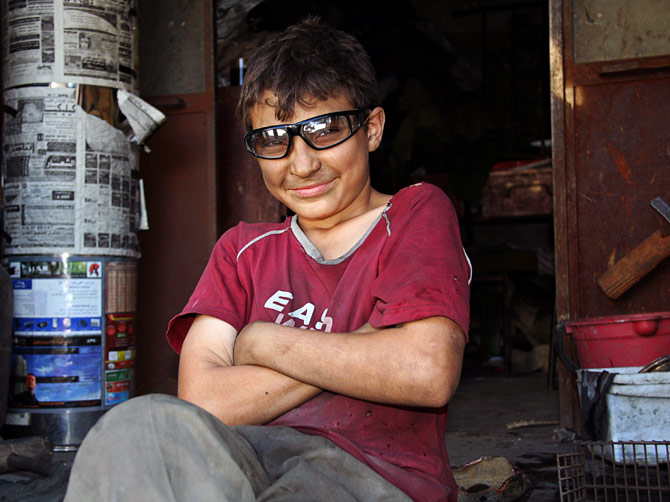 Алеппский мальчишка