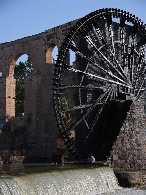 Нория с акведуком