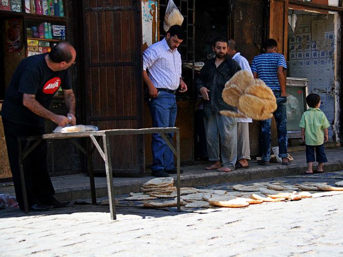 Пекарня в Алеппо