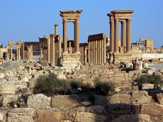 Пальмирские колоннады