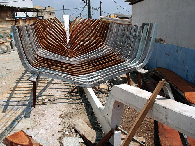 Сирия, Арвад - каркас корабля
