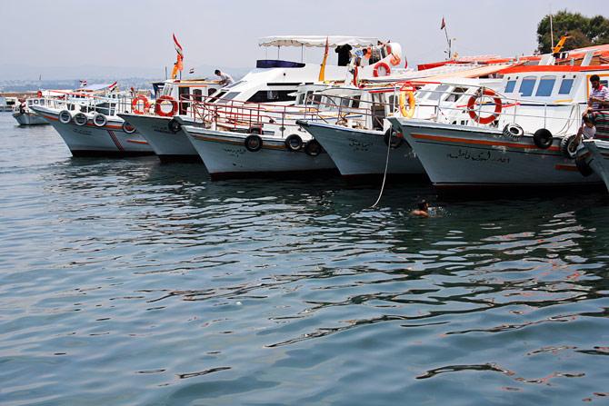 Сирия, Арвад - рыбацкие катера