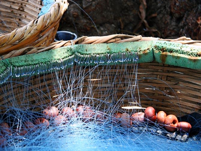 Сирия, Арвад - рыболовные сети