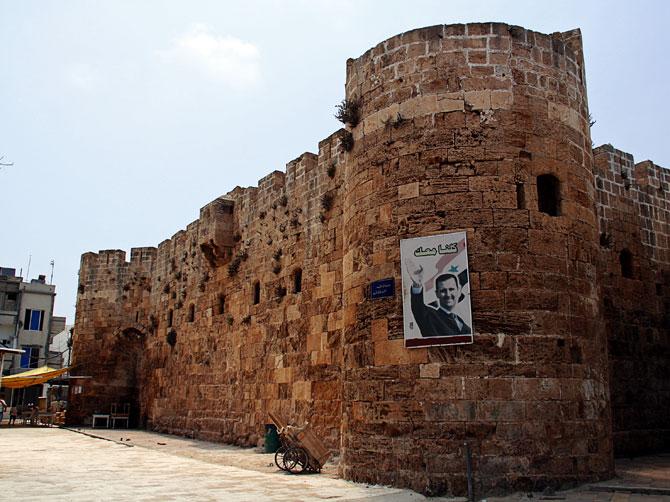 Сирия, Арвад - крепость