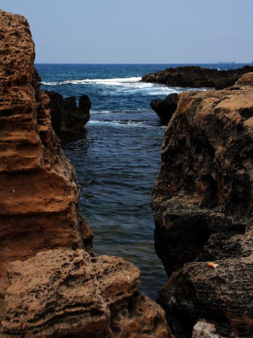 Сирия, Арвад - вид на Средиземное море