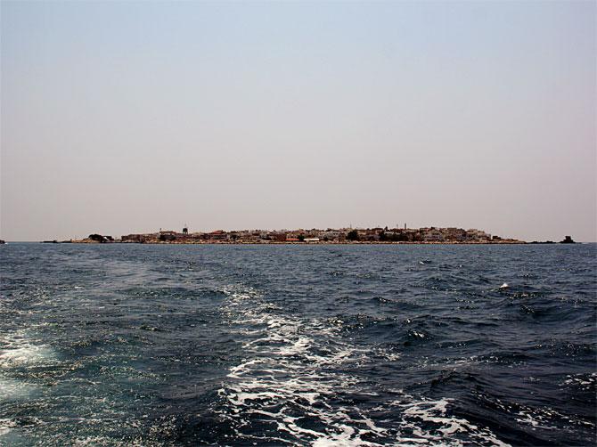 Вид на остров Арвад, Сирия