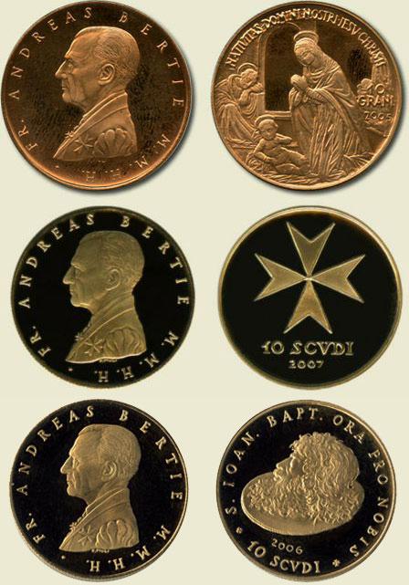 Монеты госпитальеров