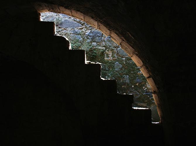 Ступени в замке Крак де Шевалье