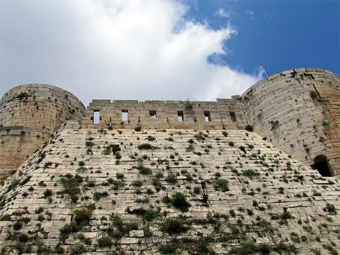 Укрепления замка Крак де Шевалье