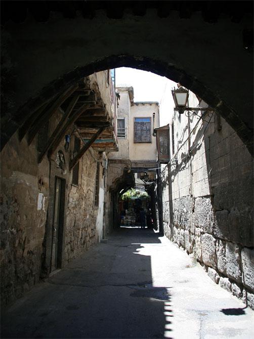 Улица в старом Дамаске