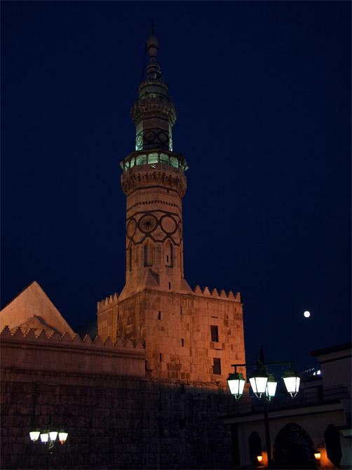 Большая мечеть вечером