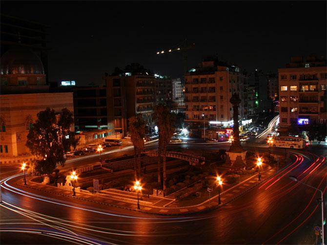 Ночь в Дамаске