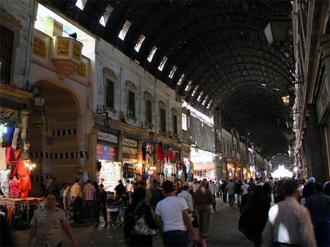 Галерея рынка Хамидия