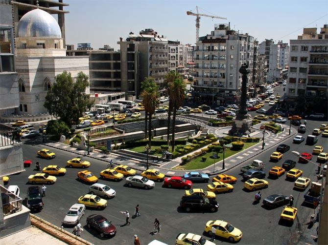 Такси Дамаска