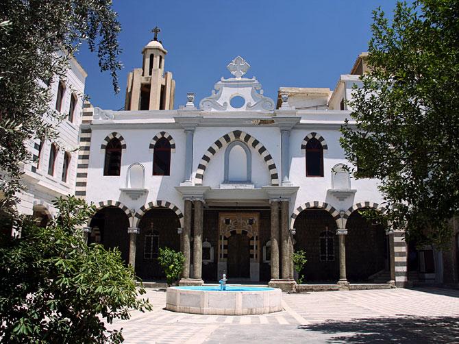 Церковь в Дамаске, Сирия