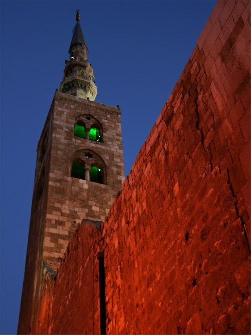 Минарет мечети Омейядов