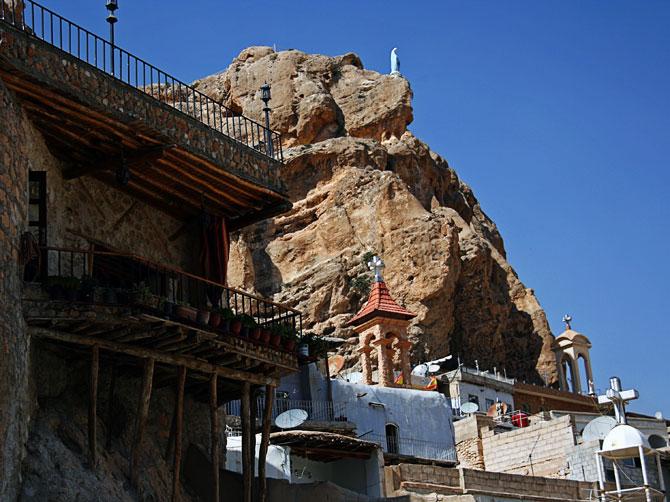 Христианские церкви в Маалюле, Сирия