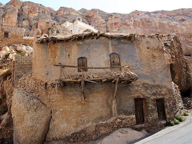Старый дом в Маалюле, Сирия