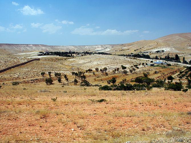 Пейзаж в Маалюле, Сирия