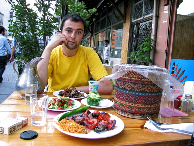 Ужин по-турецки