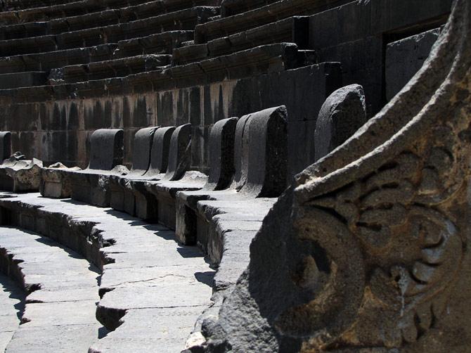 Скамьи в амфитеатре Борсы, Сирия