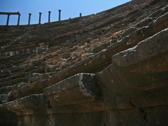 Скамьи амфитеатра Босры, Сирия