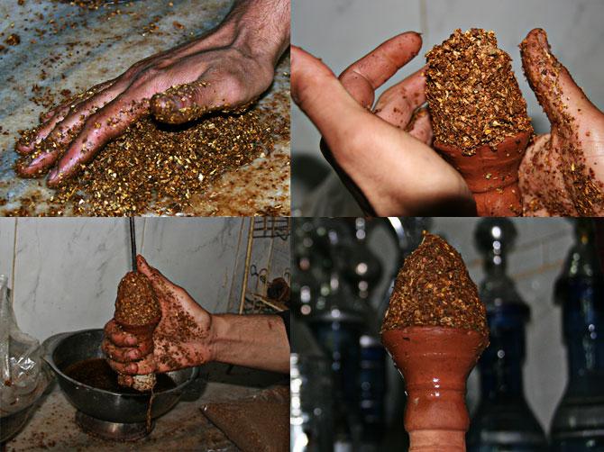 Чаша для табака кальяна своими руками