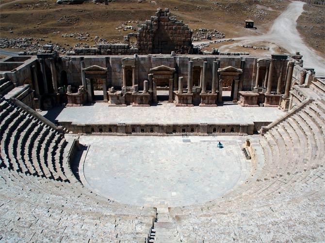 Амфитеатр в Герасе
