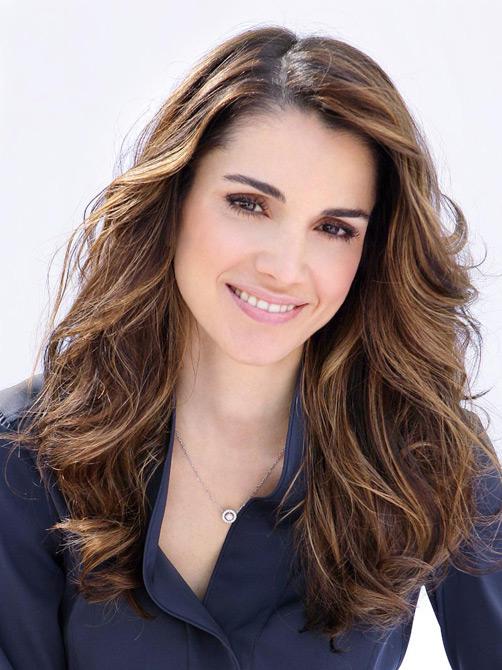 Иорданская королева Рания