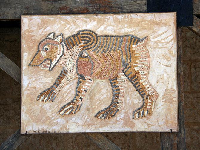 Мозаичный медведь