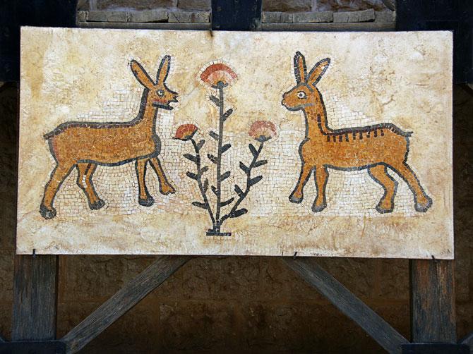 Мозаичные олени