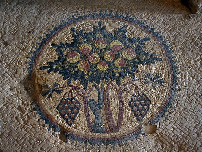 Мозаика дерева