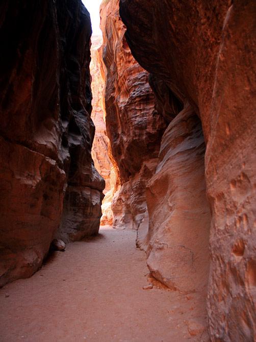 Красное ущелье, Петра, Иордания