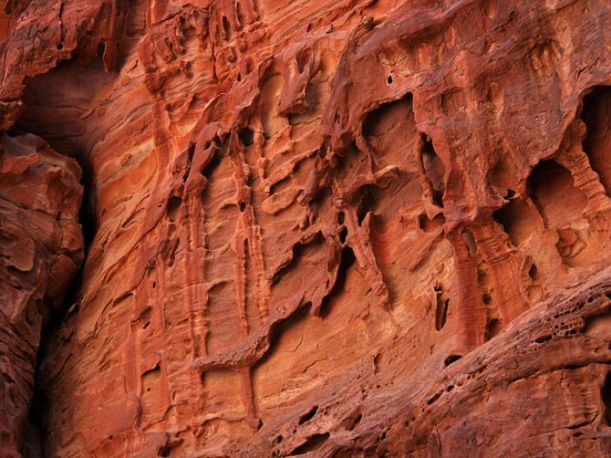 Скала в Петре, Иордания
