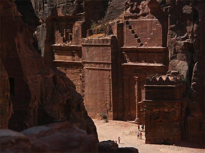 Набатейские гробницы, Петра, Иордания