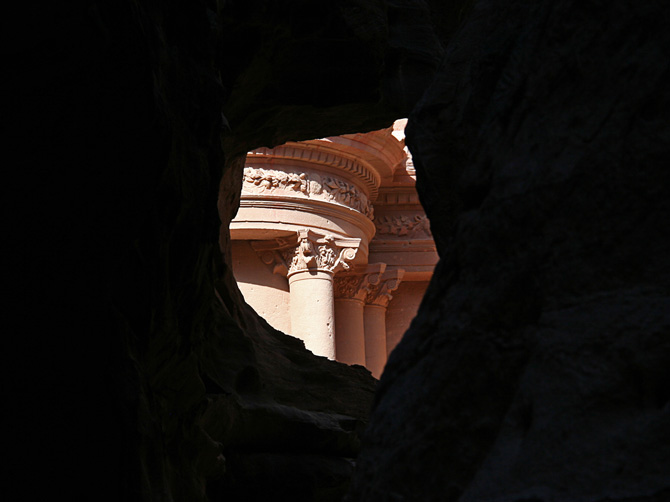 Фрагмент аль-Хазне, Петра, Иордания