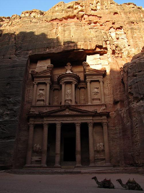 Набатейская сокровищница, Петра, Иордания