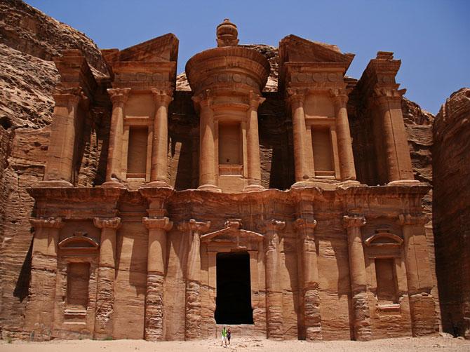 Монастырь в Петре, Иордания