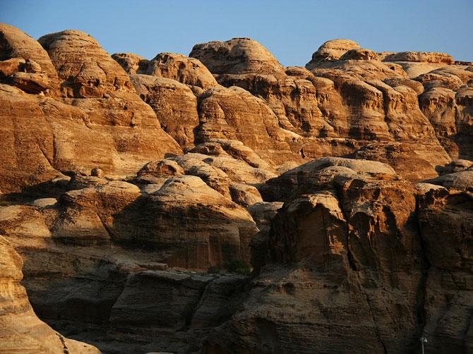 Золотые скалы Петры