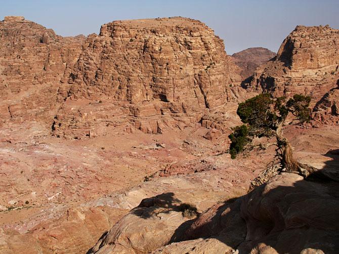 Скалы Петры, Иордания