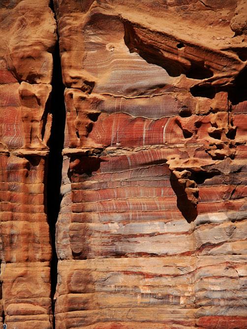 Песчаники в Петре, Иордания